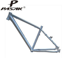 MTB Mountaion Bike Bicycle Disc V Oil Brake 26inch 15 16 17 18inch Silver Frame No