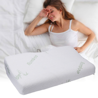 Bamboo Fiber Pillow Slow Rebound Health Care Memory Foam Pillow Memory Foam Pillow Support The Neck