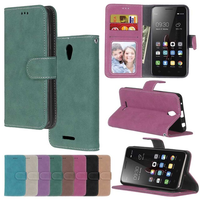 Luxury High Quality Matte Leather Colorful flip retro Case for lenovo a2010-a a 2010 phone case Cover for Lenovo A2010