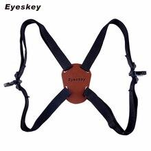A Forma di X Harness Strap Regolabile Binocolo Carrier Elastico Spalline Durevoli Ottica Accessori per Binoculare/Macchina Fotografica