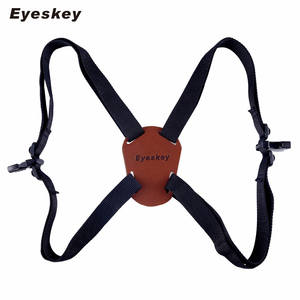 X-Shaped Harness Strap Adjustable Binoculars Carrier Elastic Durable Shoulder Straps Optics Accessories For Binocular / Camera