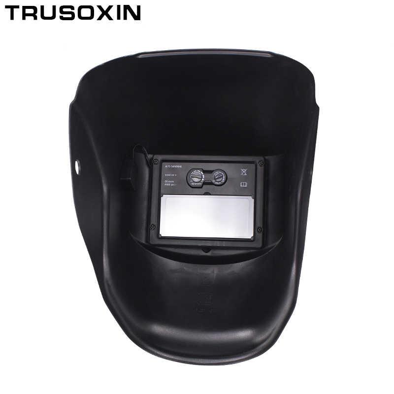 New Solar LI battery Automatic Darkening TIG MIG MMA MAG KR KC Electric Welding Mask/Helmets/Welder Cap for Welding Machine