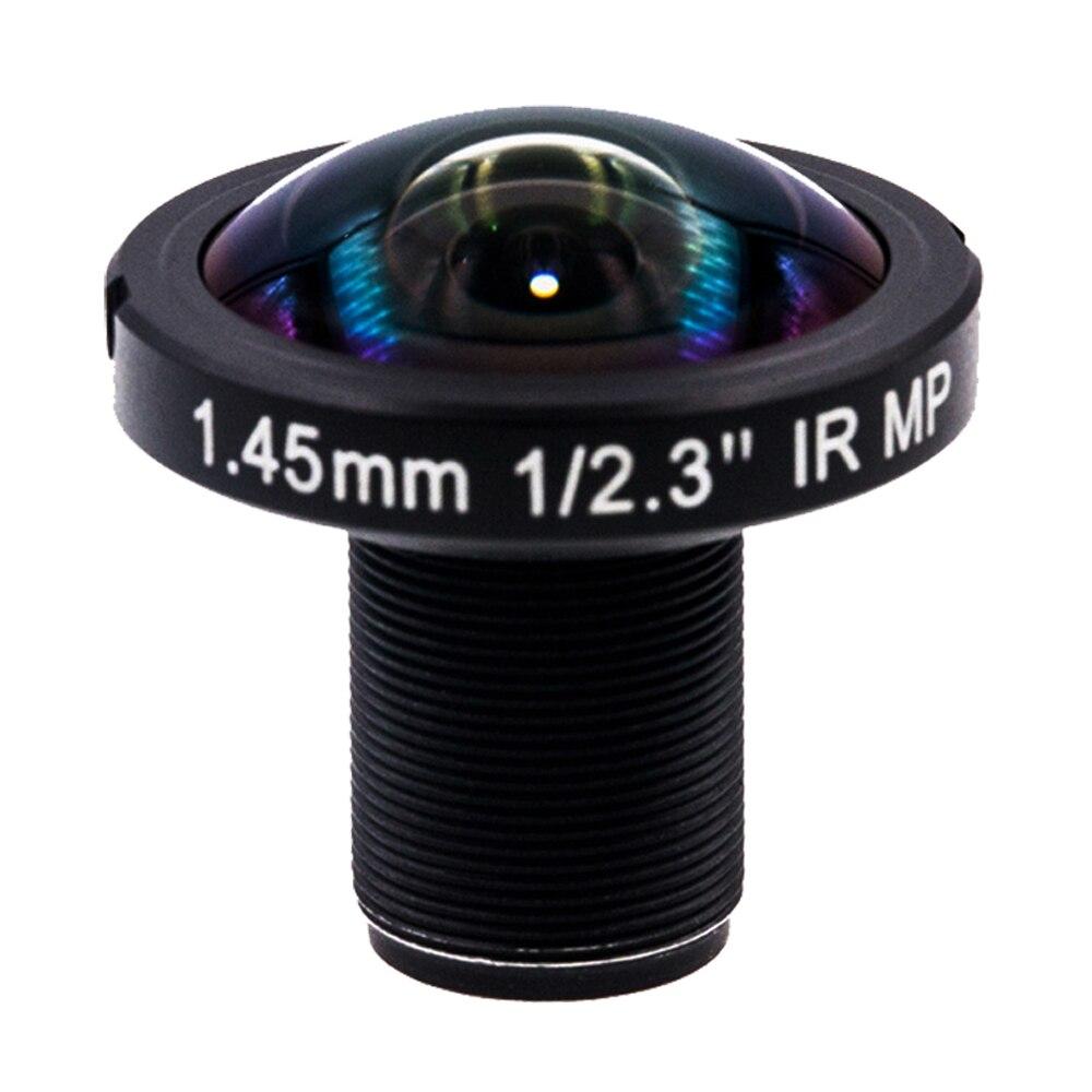 1.45mm Fisheye 190 Degrés 12 Mégapixels large angle IR Lentille pour GoPro Hero 4 3 Xiaomi Yi 4 k SJCAM SJ4000 Panoramique 360VR tirer