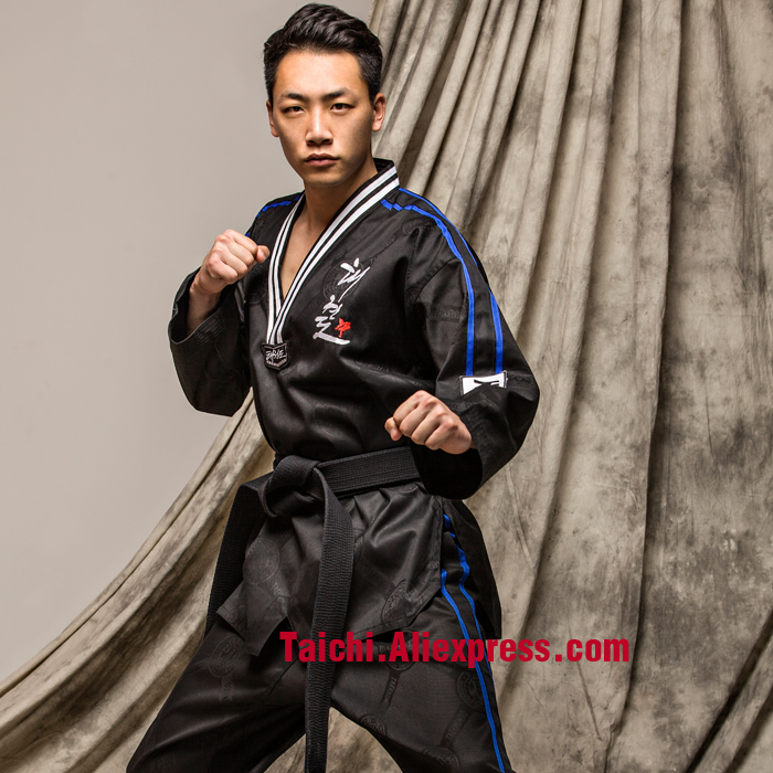 New High-end YES Taekwondo Clothes For Children And Adults With Long Sleeved Taekwondo Clothes