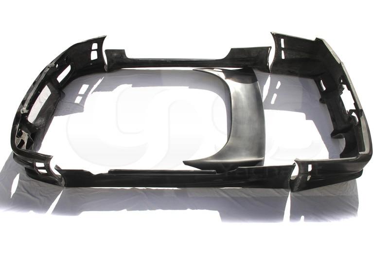 Автомобиль-Стайлинг Волокно Стекло frp bodykits подходит для 99-02 Skyline R34 gtt 2D bomex Стиль переднего бампера задний бампер сбоку Юбки для женщин спойле...