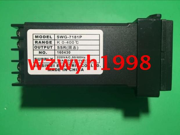 ФОТО Genuine QYM gold four-dimensional electrical SWJY SWG-7000 temperature controller four-dimensional electrical SWG-7181P
