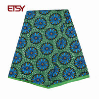 new african fabric wholesale holland wax prints african 2018 latest tissu wax ankara african wax print fabric 6 yards FP6008