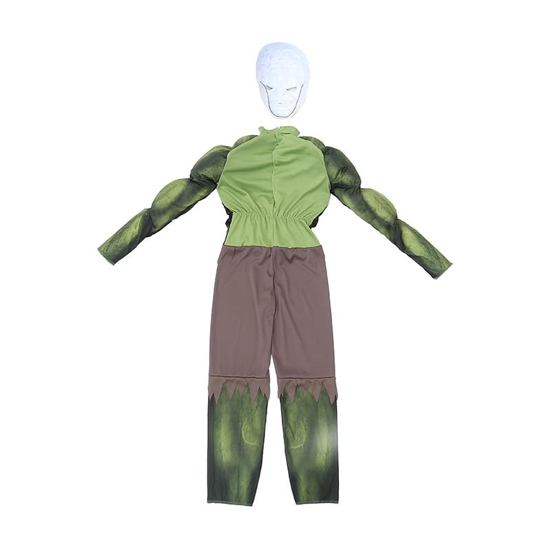 Fabrika Birbaşa Satış Oğlanlar Hulk Muscle Cosplay Geyim Uşaqlar - Karnaval kostyumlar - Fotoqrafiya 3