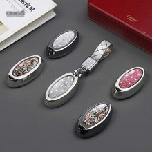 Car Key Case Special Diamond Shell For Nissan Infiniti G25 G37 JX35 Q50/L Q60/S Q70L QX50 QX60 QX70 EX FX JX G/M with Keychain