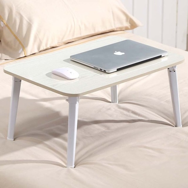 Bed With A Lazy Student Dormitory Bed, Study Table Folding Small Childrenu0027s  Desk Laptop