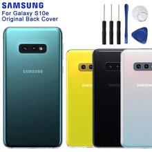 Samsung Original Back Cover Cases Battery Cover Housing For Samsung Galaxy S10E SM G9700 Back Rear Glass Case