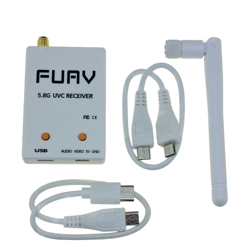 FPV Mini OTG Receiver 5.8G 150CH Mini FPV Receiver UVC Video ...