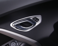 For Chevrolet Camaro 2017 2018 ABS Interior car styling Accessories Inner Door Handle Bowl Decor Cover Trim