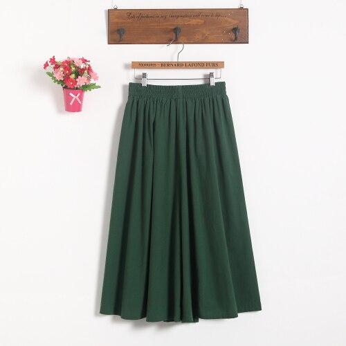 Модные женские короткие юбки для беременных; юбка с поясом; юбка для беременных; большие размеры; юбка-брюки; Одежда для беременных - Цвет: Зеленый