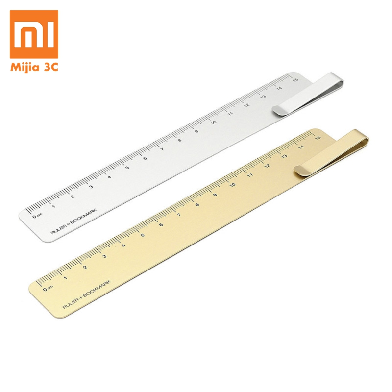 Xiaomi Mijia Kaco Metal Ruler 15cm Lightweight Portable Straight Rulers Stainless Steel Office School Measurement Tool Precision
