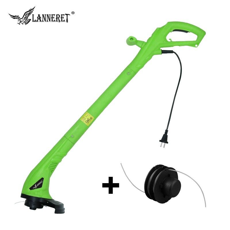 LANNERET GT250DW01 250 Watt 220mm AC Elektrische Rasentrimmer elektrische Rasen Maschine Schnittbreite Gartengeräte Gras Linie Trimmer