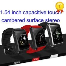 Yeni tasarım Bluetooth 4.0 Dokunmatik Ekran MTK6580 kol saati Telefon smartwatch ile Nano SIM Kart Yuvası Kamera akıllı saat için iphone