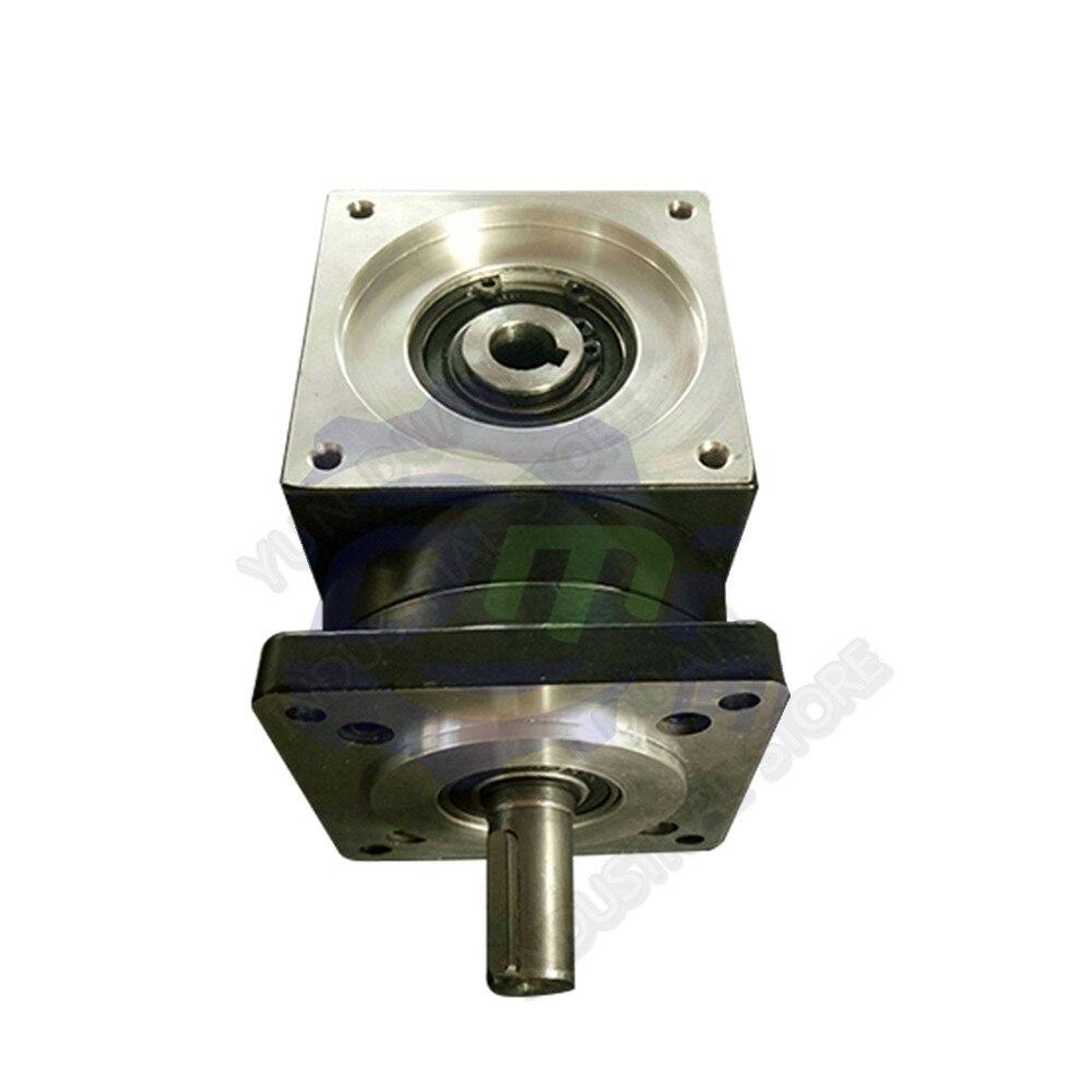 10:1 Right angle Planeten Geschwindigkeit Minderer NEMA34 Verhältnis 20 86 MM Getriebe 90 Grad Winkel Umkehr Ecke für 86 Stepper motor