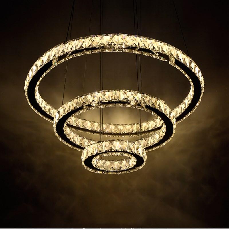 2019 New Modern Upgrade Version 3 Ring Pendant Lights Hot