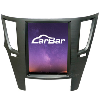 """CARBAR 10.4"""" Vertical IPS Screen Android Car DVD GPS Navigation Player for Subaru Legacy Outback 2010-2014 2GB RAM 64GB ROM"""