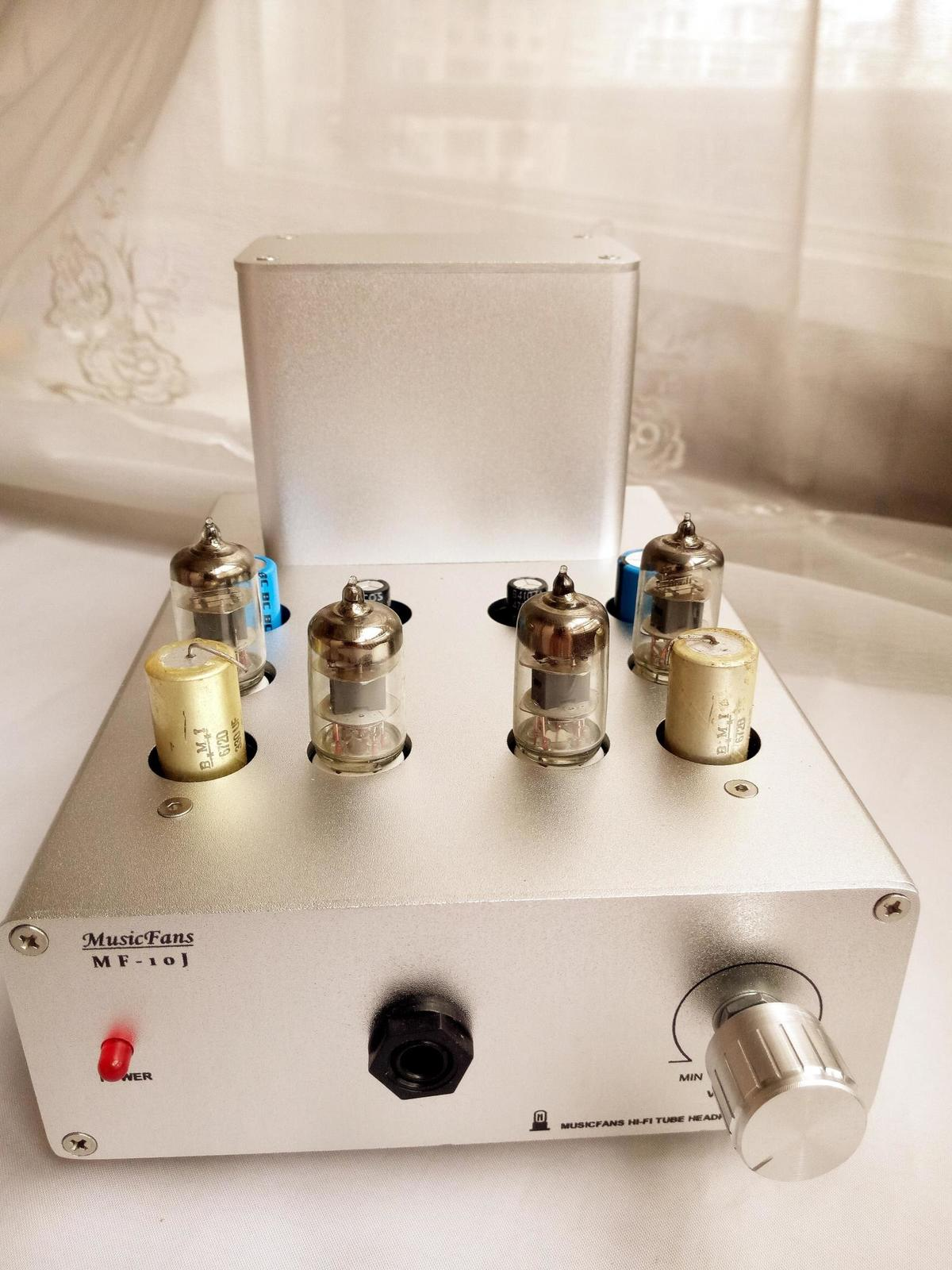 4PCS 6J1 Tube + FET Transistor Hybrid Headphone Amplifier treble transparent open Young, ...