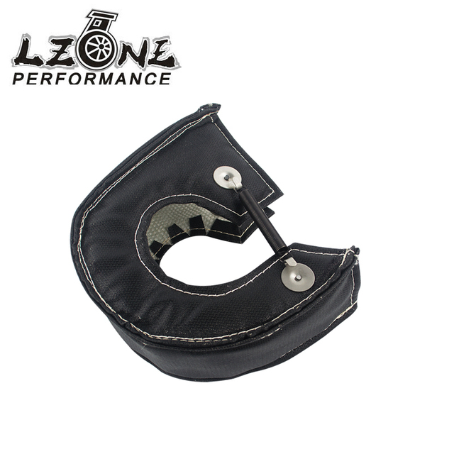 LZONE -  T3 turbo blanket (100% FULL Glass fiber) Black fit:t2,t25,t28,gt28,gt30,gt35,and most t3 turbine housing turbo charger