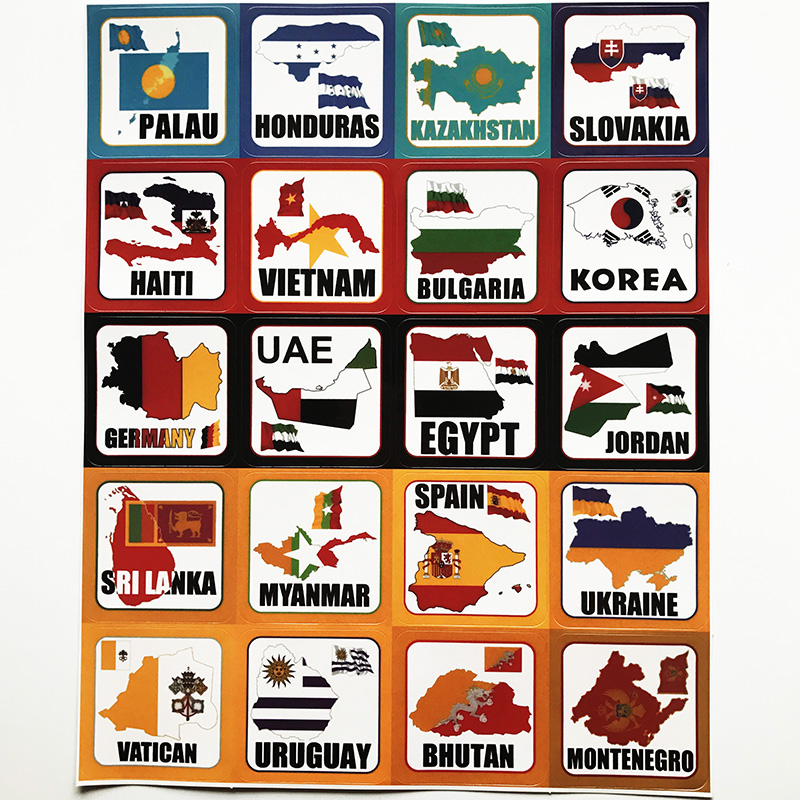 100 Countries Flag & Map POLAND NEPAL NORWAY LUXEMBOURG CHILE ...