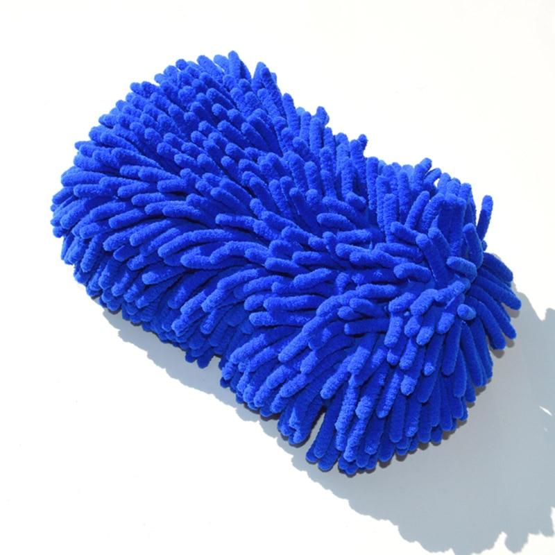 Car Wash Gloves Cleaning Brush for Skoda Octavia A5 A7 2 3 A4 Tour Rapid Fabia Superb 2 Yeti Kodiaq Felicia VRS Roomster Citigo