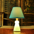 4 Colors Creative Modern Ceramic Fabric Table Lamp For Bedroom Desk Lamp Luminaria de mesa for Children's Room veilleuse enfant