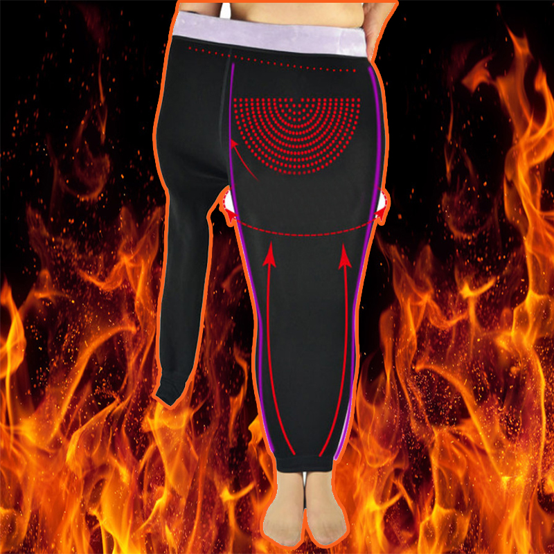 Winter New King size 65~115Kg Fat MM Plant Protect Uterus Super Warm Slim Flocking Thick Pencil Women Leggings 460