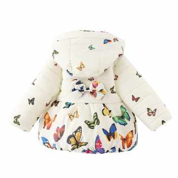 Infant Girl Coats Baby Jacket snow wear jacket girlsToddler Infant baby outerwear babys jackets Hooded kids winter coats