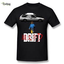 3D Print Mens Drift Initial D Akira T Shirt Casual Man Fashionable T-Shirt Wholesale
