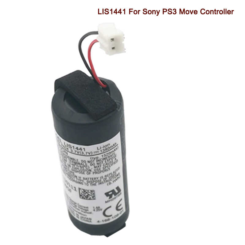LIS1441 Rechargeable Battery for Sony PS3 Move PlayStation PS4 Move Motion Controller CECH-ZCM1E LIP1450 1350mAh Batteries