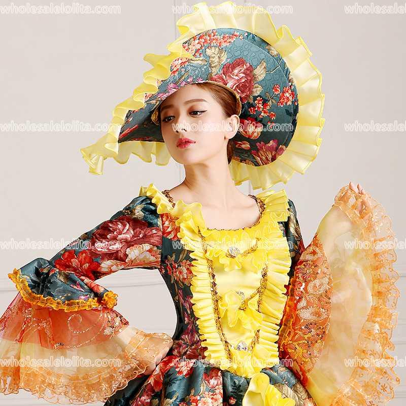 Chaude Renaissance Belle Color Mondial Rococo antoinette Gratuite 18ème Période Robes Image Victorienne Siècle Livraison Marie rrwqz6dPx