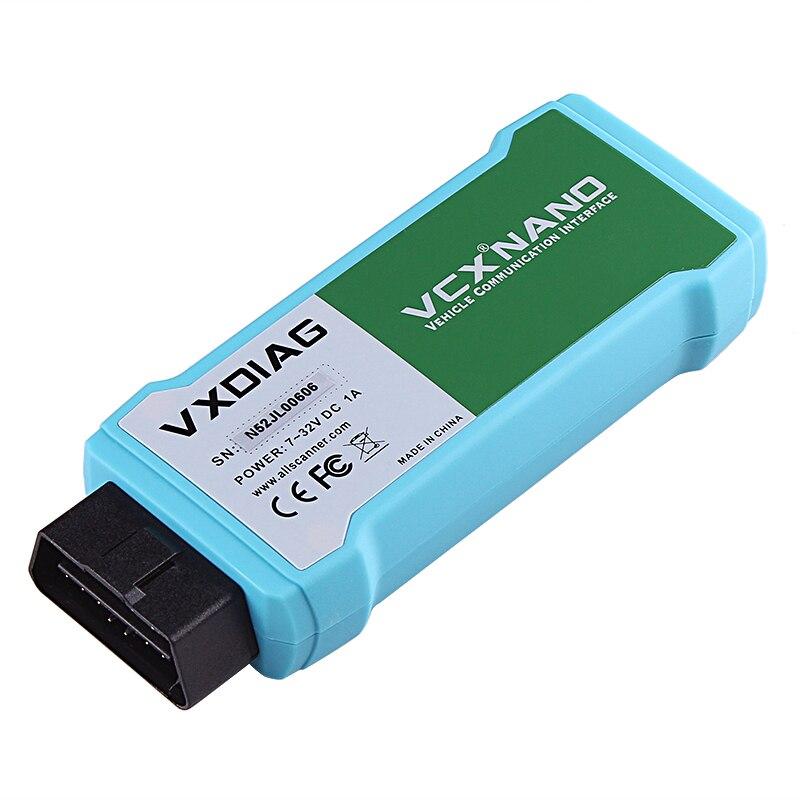 VXDIAG dla JLR SDD akcesoria samochodowe Wifi skaner kodów obd2 programowanie VCX NANO dla Jaguar V159 narzędzia diagnostyczne dla Land Rover