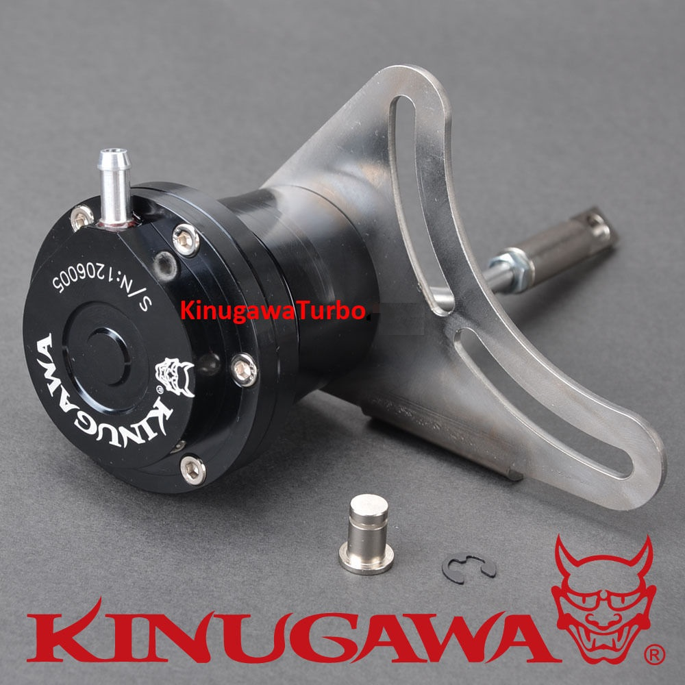 Kinugawa Adjustable Turbo Wastegate Actuator for IHI VF10 RHB5 for SUBARU Legacy 4EAT 1 0 bar 14 7 Psi in Turbo Chargers Parts from Automobiles Motorcycles