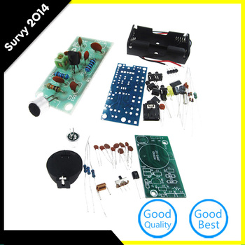 Modulation Wireless Stereo FM Radio Receiver Module PCB DIY Electronic Kits fm micro smd radio diy kit frequency modulation electronic production training