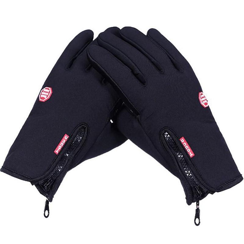 Prix pour Vent en plein air hiver gants chauds hommes femmes sport equitation cyclisme moto vélo coupe - vent thermique des gants à écran tactile
