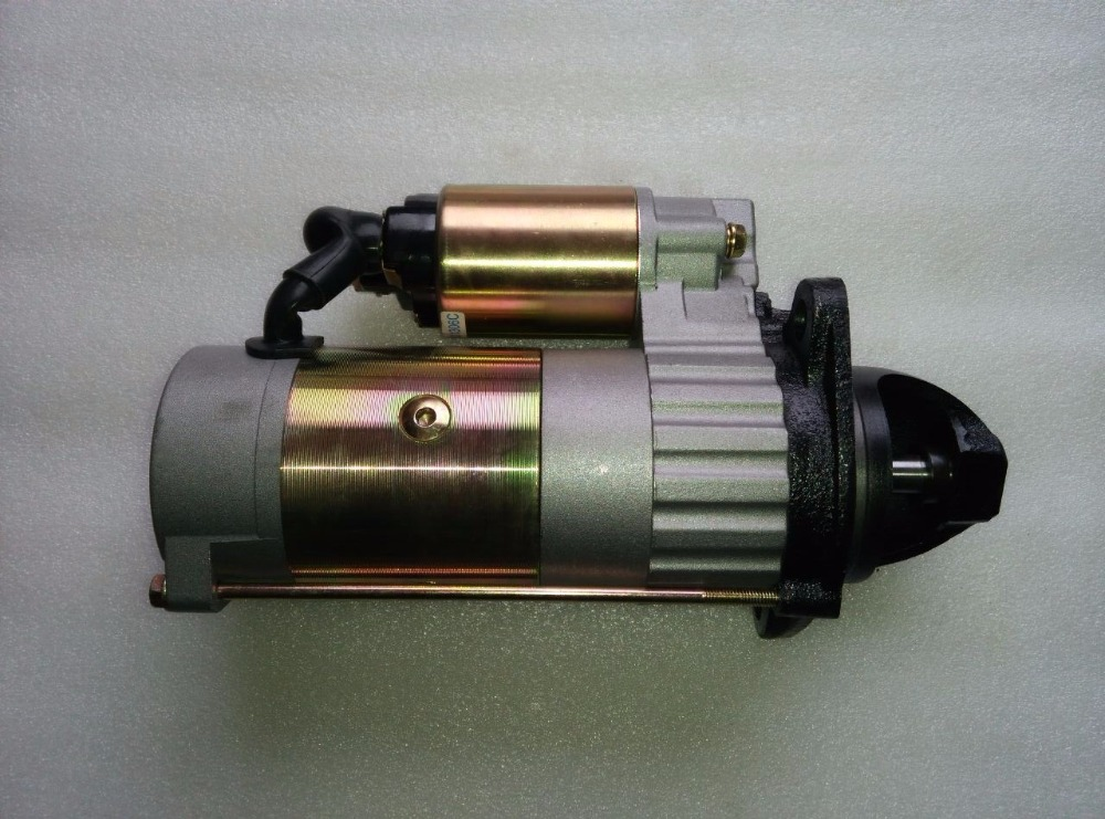 Jiangdong TY395E for tractor like Jinma series, the gear reduction starter motor jiangdong ty395e jd495 engine for tractor like jinma the water pump two inlet pipes