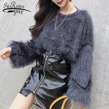 blusas mujer de moda 2018 autumn winter women blouse shirt long sleeve womens tops and blouses women shirts clothes 1407 45