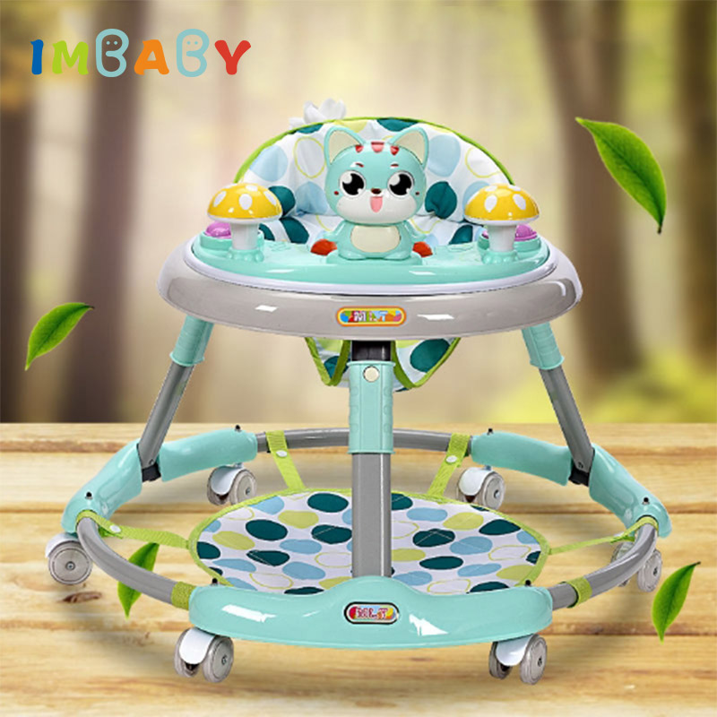 IMBABY Baby Walker Walkers For Kids With Wheels Andador Car Toddler Walker For Kids Learning Baby Wallker Music Balance Andador