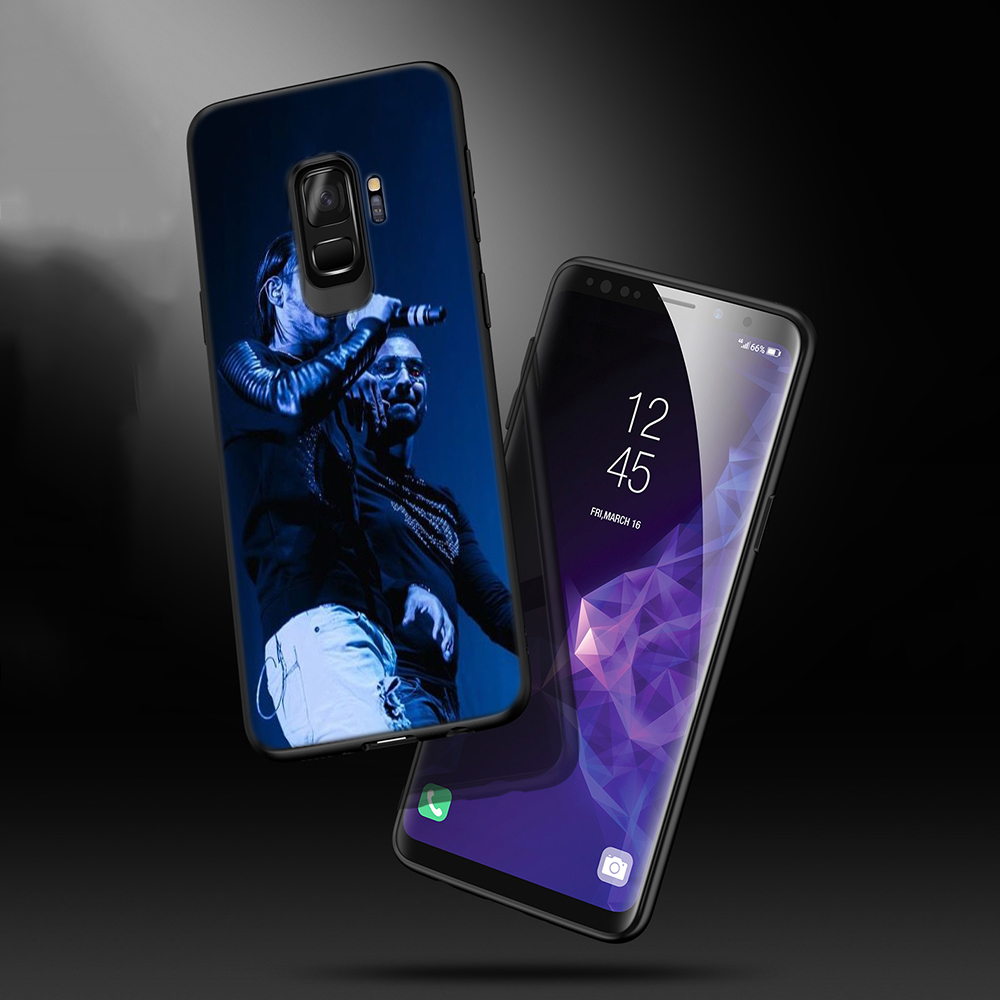 Lavaza PNL Rapper Soft Phone Cover for Samsung Galaxy S8 S9 S10 Plus A6 A8 A9 2018 A30 A50 TPU Case in Fitted Cases from Cellphones Telecommunications