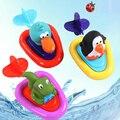 Banho do bebê de Brinquedo Pull and Go Boat Bath Clockwork Toy Crianças play na piscina banheira brinquedos para meninos meninas crianças presentes