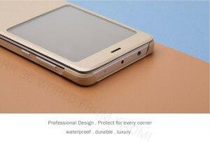 Image 4 - 100% Original xiaomi REDMI NOTE 4 flip case Chinese MTK Helio x 20 / Global Version Snapdragon Cover ( 5.5 inch )