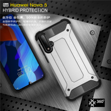 For Huawei Nova 5 Case Shockproof Armor Rubber Havey Duty Coque Phone Cover Youthsay