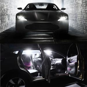 Image 5 - WLJH 10x T10 W5W Led ampul ışık 3030 SMD Araba Oto İç Dome Park Işıkları Plaka Lambası Ampuller Olmayan Polarite evrensel