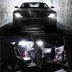 Image 5 - WLJH ampoule Led 10x T10 W5W, 3030 SMD, lumières de stationnement intérieur de voiture, plaque dimmatriculation, ampoule universelle Non polarisée