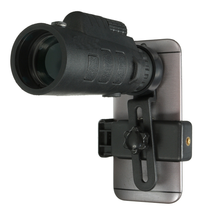 Цена за Универсальный 35x50 HD оптический Монокуляр телескоп увеличить телефон объектив наблюдения обзор Кемпинг телескоп с держателем для смартфонов