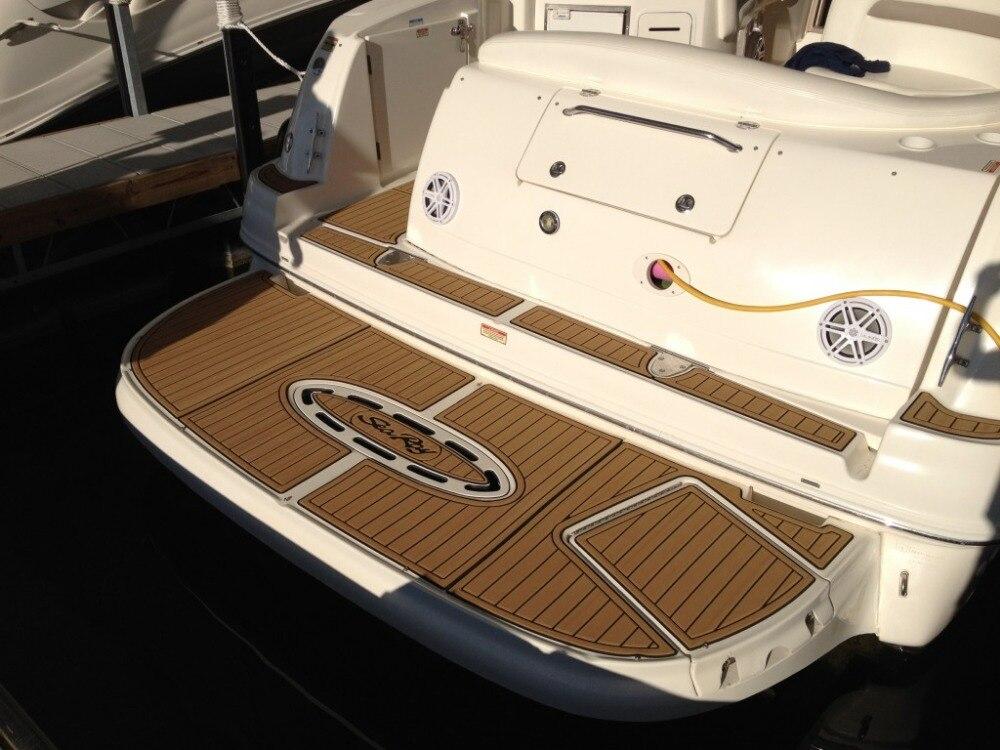 2015 Tige Z3 Boat Swim Platform Pads 1/4