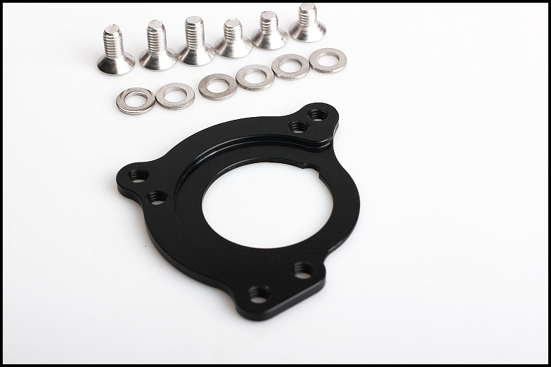 Bicycle BSA ISCG ISCG05 Adapter Bottom Bracket Plate BB Chain Guide Conversion